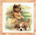 RL1390 Riolis Cross Stitch Kit Tender Age