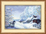 RL989 Riolis Cross Stitch Kit Russian Winter