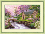 RL1098 Riolis Cross Stitch Kit Spring View