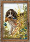 RL1151 Riolis Cross Stitch Kit Hunting Spaniel
