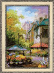 RL1306 Riolis Cross Stitch Kit Flower Street