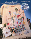 07-1019 Snow Buddies Afghan by Stoney Creek Collection