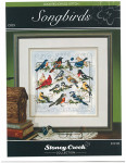 09-1200 Songbirds (Chartpack) by Stoney Creek Collection