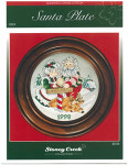 09-1195 Santa Plate (Chart pack) by Stoney Creek Collection