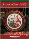 09-2209 Santa Plate 2009 (Chartpack) by Stoney Creek Collection 100 X 100