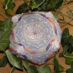 Brodeuse Bressane BB-BL Biscornu Lotus