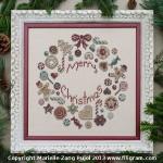 Filigram F-CCW Cookies Christmas Wreath