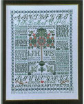 Jan Houtman Designs jh28 Friendship Lifetree Sampler