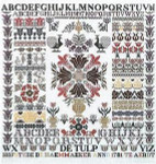 Jan Houtman Designs jh24 Tulip Sampler