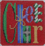 CT-1197BA Lg. Cheer Ornament Red Background Associated Talents