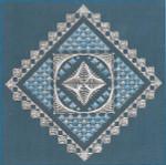 Freda's Fancy Stitching Diamonds And Lace