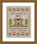 Little Dove Designs LilDD12 Home is Where the Heart Is
