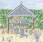 SWB1065 Spring Stand 10X10 18 Mesh Cooper Oaks Designs