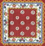 LR354 Red Pillow Top 14X14 13 Mesh Cooper Oaks Designs