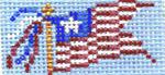 COL564A Flag 1X2 18 Mesh Cooper Oaks Designs