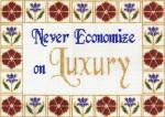 CC703 Never Economize 9X12.5 13 Mesh Cooper Oaks Designs