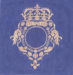 KS423B Sun King Crest 9X9 18 Mesh Cooper Oaks Designs