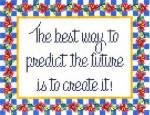 CC702 Predict The Future 10.25X8 13 Mesh Cooper Oaks Designs