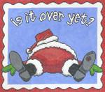 CC717 Is It Over Yet? 11X12 13 Mesh Cooper Oaks Designs