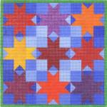 CBC801 8-Ptd Star Tic,Tac,Toe 8.75X8.75 13 Mesh Cooper Oaks Designs