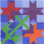 CBC802 8-Ptd Star-1 13 4X4 13 Mesh Cooper Oaks Designs
