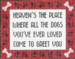 CC712 Heaven's the Place 7.5X9.25 13 Mesh Cooper Oaks Designs