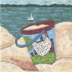 WK2002 Dottie By the Sea 9X9 18 Mesh Cooper Oaks Designs
