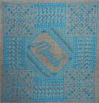 Northern Expressions NEBS03 Birthstone Series: Aquamarine  Stitch Count: 100 x 100