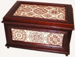 Sampler Cove Designs SC1022 Quaker Casket - Again!