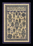 Sampler Cove Designs SC1030 Midnight in the Garden