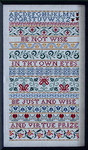 Sampler Cove Designs SC1009 Wise