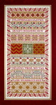 Sampler Cove Designs SC1033 Strawberry Sampler