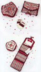 Sampler Cove Designs SC1014 Rhapsody in Red Part 2