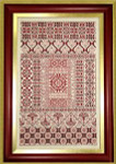 Sampler Cove Designs SC1005 Spanish Rouge