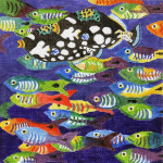 Waterweave C506 School Fish 18 mesh 8 x 8