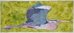 Waterweave C151 Great Blue Heron 14.5x6 18 Mesh