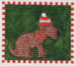 Waterweave C611 Dog in a Hat 18 mesh 6 x 5