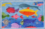 Waterweave CO1101 Seafood Medley 18 mesh 11 x 7