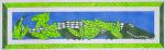 Waterweave CO1220 Lizard with Laurels 18 Mesh 17.5 x 5