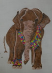 Waterweave CO1308 Tasseled Elephant 18 mesh 7 x 9