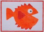 Waterweave C803 Happy Fish 13 mesh 7.25 x 5.25