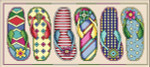 13-1588 Flip Flop Fun by Vickery Collection 218 x 92