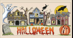 12-1741 Halloweentown by Vickery Collection 287 x 140