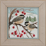 MH143303 Mill Hill Buttons and Bead Kit Chickadee (2013)