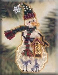 MHSC25 Mill Hill Charmed Ornament Kit Birdhouse Snow Charmer (2001)