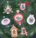 10-2507  WM-0154 Merry Minis II: Festive Ornaments Waxing Moon Designs  YT