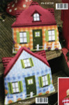 "PNV147191 Vervaco Kit Blue House Bottom 16"" x 16""; Canvas; 18ct"