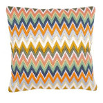 "PNV147946 Vervaco Kit ZigZag Pillow 16"" x 16"" Canvas 8ct"