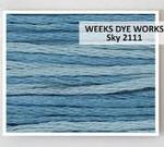 Weeks Dye Works Pearl Cotton 5 2111 Sky