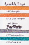 Rainbow Gallery Sparkle Rays SR78 Dark Pumpkin